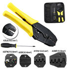 New Insulated Connector Electrical Terminal Plier Ratchet Crimper Wire Tool Kit