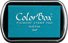 Color Box Pigment Ink Stamp Pad SURF 15190 Sealed Brand New