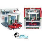 Johnny Lightning Diorama Resin Texaco Station with Diecast 1965 Chevrolet Pickup