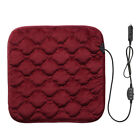 12v Electric Heated Car Seat Cushion Cover Heating Heater Warmer Pad 5 Colors