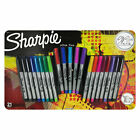 Sharpie Permanent Markers Ultra Fine Point Assorted Colors 21 Count