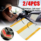 Us 24pcs 12v Universal Car Carbon Fiber Heated Seat Heating Pad Heater Warmer