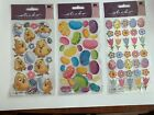 EK Success Sticko Brand Easter Stickers 3 sealed Pkgs 83 Stickers Total