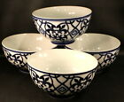 Home Target CATALINA Soup Cereal Bowls  Set of 4  Cobalt Blue
