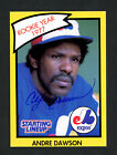 Andre Dawson Autographed Signed 1989 Starting Lineup Card Montreal Expos 160441