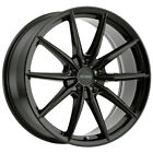 4 Petrol P4B 17x8 5x1143 5x45 +40mm Gloss Black Wheels Rims