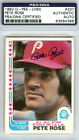 Pete Rose Baseball Cards, Rookie Card and Autographed Memorabilia Guide 41