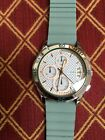 Fossil women's watch Modern Pursuit chronological blue silicone