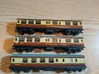 Lot of 3 Hornby Dublo Passenger Cars Restaurant Cars