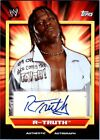 WWE R Truth 2011 Topps Classic Authentic Autograph Card DWC