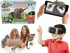 4D+ Utopia 360 Animal Zoo Augmented Reality Flashcards VR Headset FREE SHIPPING