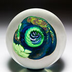 Vitra Glass Studio 1994 coral reef abstract magnum paperweight by Aro Schulze