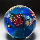 Vitra Glass Studio 1994 coral reef abstract glass paperweight by Peggy Henry