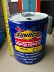 Sunoco Gas Can 5 Gallon Empty Race Fuels 112 Standard Can not in good condition