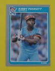 Kirby Puckett Cards, Rookie Card and Autographed Memorabilia Guide 12