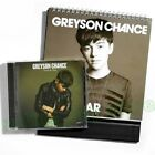 Greyson Chance Truth Be Told Part 1 Taiwan CD Promo Year Desk Calendar 2013 NEW
