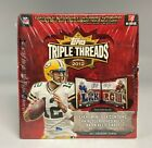 2012 TOPPS TRIPLE THREADS FACTORY SEALED FOOTBALL HOBBY BOX RUSSELL WILSON RC YR