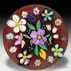 Drew Ebelhare & Sue Fox 2016 scattered flowers bouquet glass paperweight