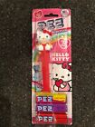 Rare PEZ Hello Kitty Candy Roll Dispenser 6 Packs of PEZ Candy Red Collectible