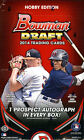 2014 BOWMAN DRAFT PICKS & PROSPECTS BASEBALL HOBBY BOX FACTORY SEALED NEW 1 AUTO