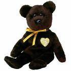TY 2003 Signature Beanie Baby Bear 11th Generation Retired w Tag Dark Chocolate