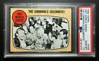 1968 Topps 1967 World Series The Cardinals Celebrate! #158 PSA 10 - Compare PWCC