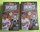2019 Topps Archives Signature Series Retired Player Ed Baseball (Two) Hobby Box