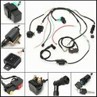 Wiring Harness Loom Solenoid Coil CDI For 50cc 110cc 125cc PIT Quad Bike Buggy