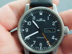 Fortis Flieger Pilot 25 Jewels Automatic Black Dial Used Gents Swiss Watch