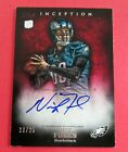 2012 Topps Inception NICK FOLES RC SP AUTO # 20 25 Eagles SB LII Philly Special