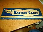 Sunoco Gas Station Battery Cable Shelf Box-Display Piece