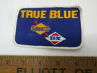 OLD SUNOCO TRUE BLUE GAS SEWING PATCH ADVERTISING