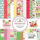 Doodlebug Double Sided Paper Pad 6X6 24 Pkg Christmas Magic 12 842715065314