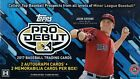 2017 TOPPS PRO DEBUT BASEBALL SEALED HOBBY BOX 2 AUTOS + 2 MEM (GUERRERO JR)?!