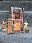 Fontanini Lighted 3 Pc Village Inn Starter Nativity Set 54501 Local Pickup Only