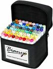 Bianyo Classic Series Alcohol Based Dual Tip Art MarkersSet of 72Travel Case