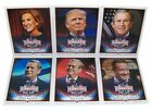DECISION 2016 Jumbo BOX TOPPERS Political Trading Cards Lot Of 6