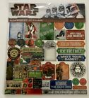 NIP Creative Imaginations Star Wars Scrapbook Kit Paper and Stickers