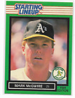 Mark McGwire 1989 Starting Lineup Card Kenner