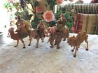 FONTANINI THE THREE KINGS WISEMAN ON ANIMALS 1992 DEPOSE MADE IN ITALY NATIVITY