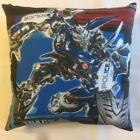 NEW TRANSFORMERS BARRICADE DECEPTION POLICE ON COMPLETE COTTON THROW PILLOW