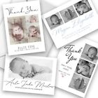 Personalised New Baby Photo Thank You Cards Birth Announcement Cards Boy or Girl