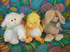 TY Beanie Babies - Easter  Set of 3 (Coop, Floxy & Hopson) -  SEE NOTE  RARE
