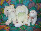TY Beanie Babies - Easter  Set of 3, Nibble, Hoppily & Marshmallow  NOTE RARE