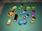 Thomas the Train Lot Wooden Engines Molly Billy Rosie Mud Thomas Percy Caboose