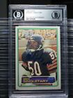 1983 Topps Mike Singletary Auto Autograph Football Card BGS Certified Bears CWI