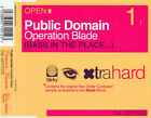 X2H1CDS - Public Domain - Operation Blade Bas - ID6224z - CD