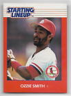 Ozzie Smith 1988 Starting Lineup SLU Card