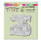 HOUSE MOUSE RUBBER STAMPS CLING COSTUME PLAY NEW cling STAMP
