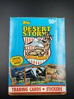 Topps 1991 Desert Storm -Series I:Coalition For Peace Original Box of Cards MIB